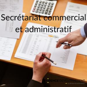 secrétariat commercial